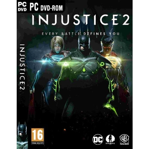 Injustice 2 Highly compressed + CD Key PC Game Free