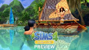 The Sims 4 Island Living Update  crack