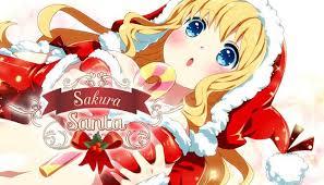 Sakura Santa Crack